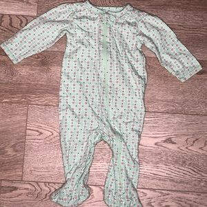 Carters zip up footies 6 months